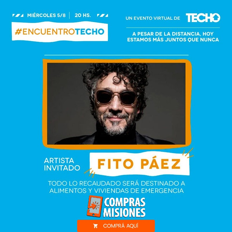 Fito Páez y TECHO