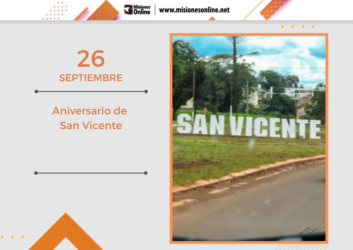 San Vicente cumple 60 años