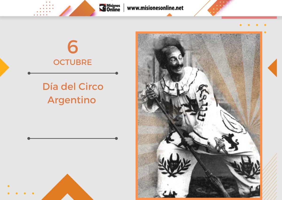 Día del circo argentino